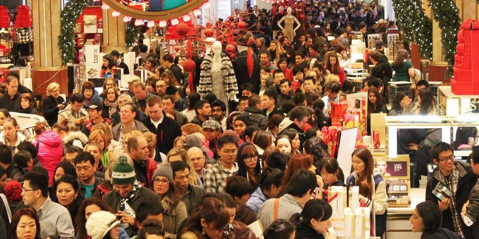 Gespot: we gaan weer massaal naar fysieke winkels (voor de feestdagen dan)