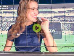 Eva bij Intersport Den Haag